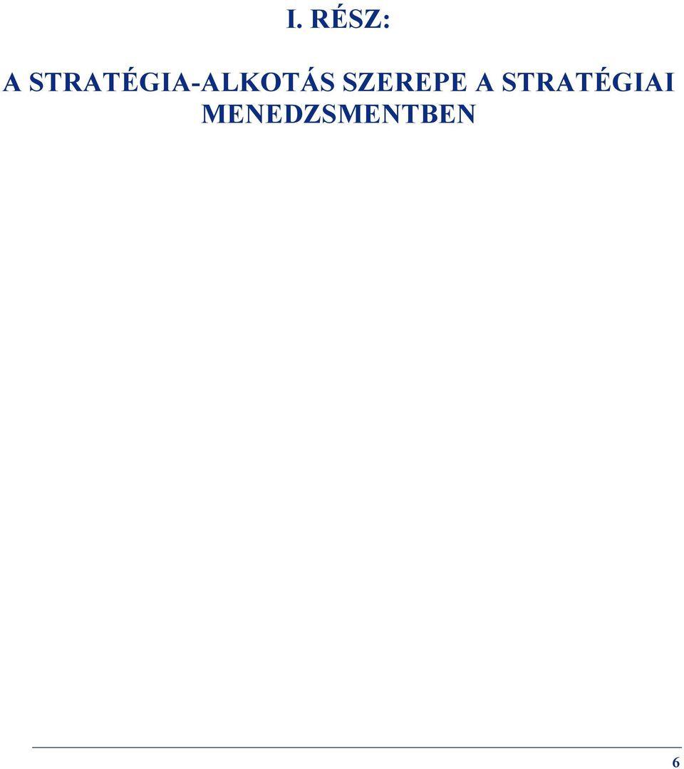 lapos stratégiai lehetőségek
