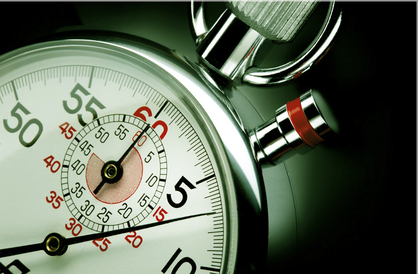 binárisan jelzi 60 másodperc