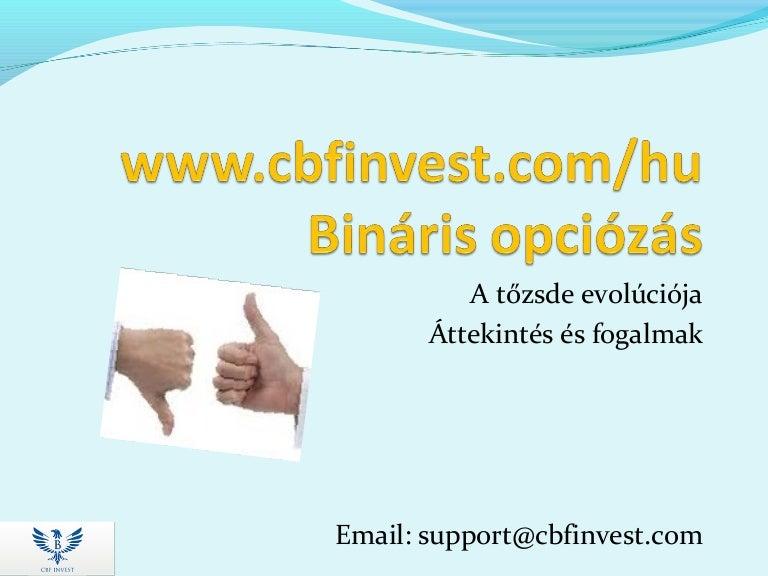 pénzügyi piac bináris opciói