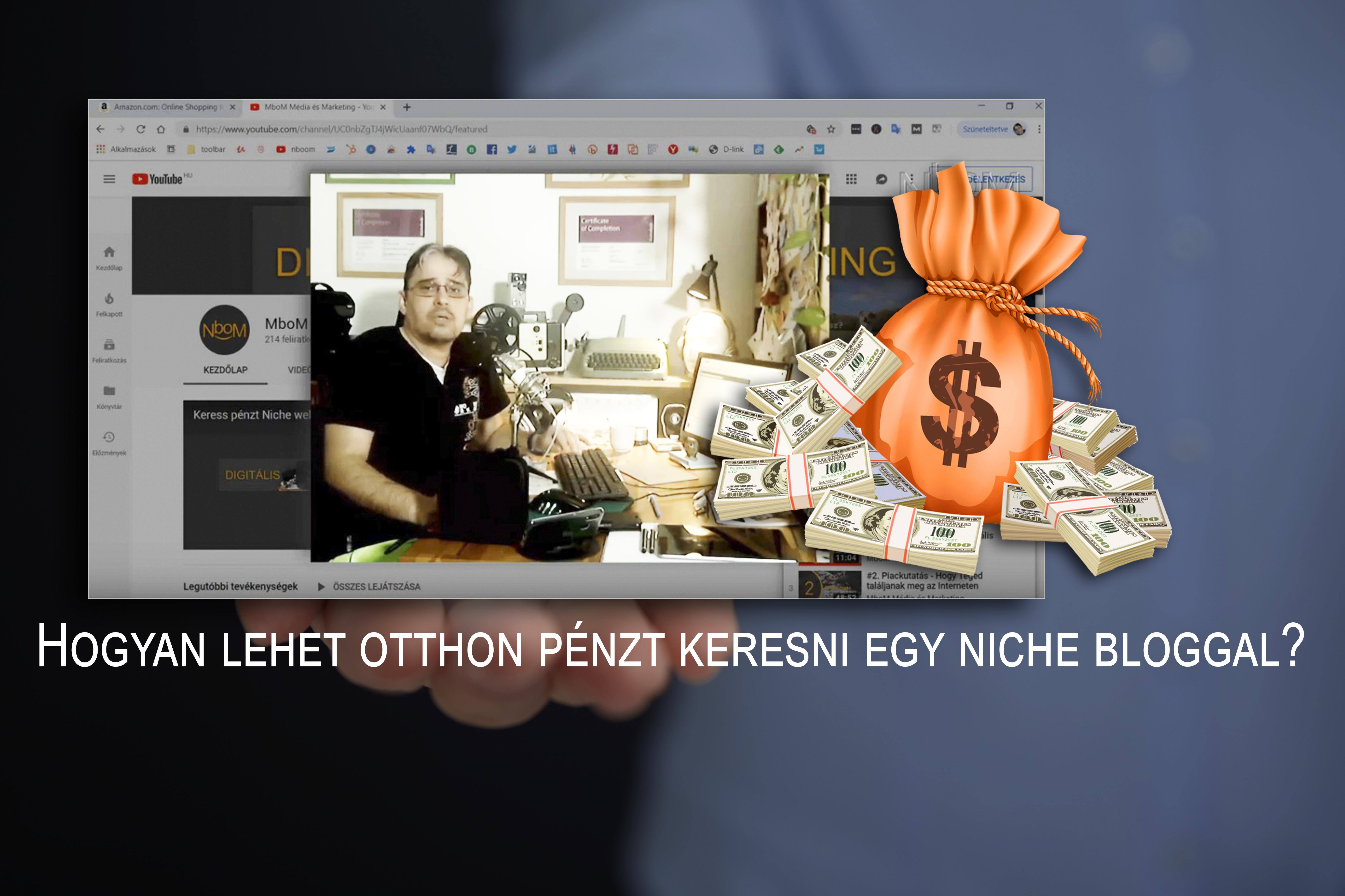 hogyan lehet pénzt keresni a weboldalon
