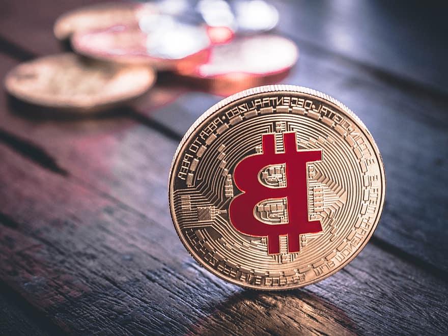 kéz, Arany, cryptocurrency, pénz, pénzügy, tényleges, Bitcoin, csere, fizetés, valuta, blockchain