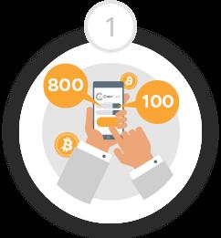 gyorsan és egyszerűen kereshet bitcoinokat