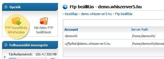 hogyan lehet demo fiókot létrehozni