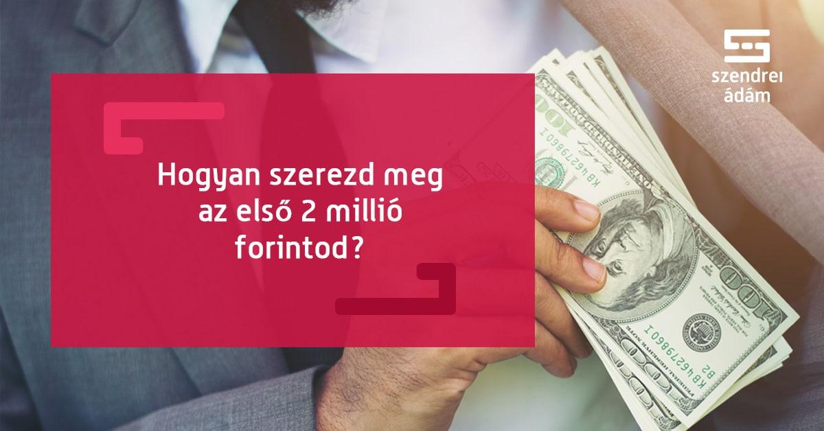 milliót keresni online melyik országban könnyebb pénzt keresni