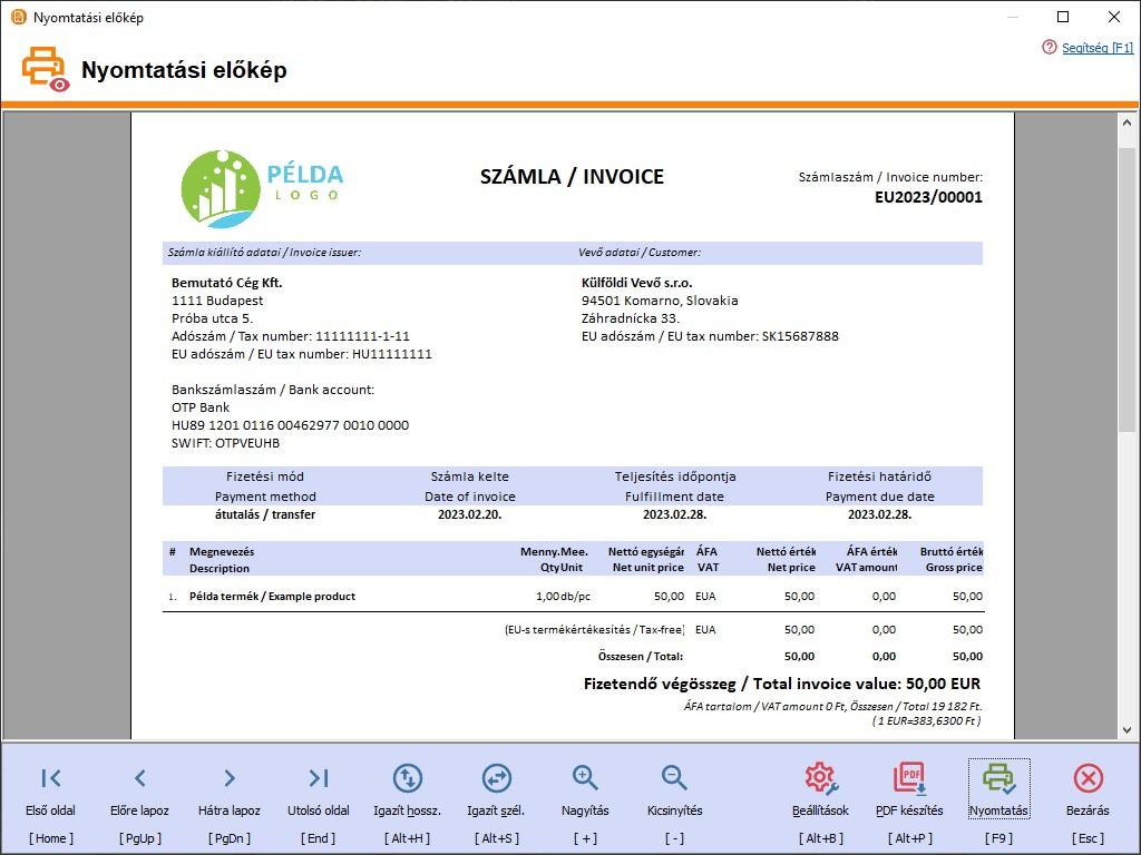 Pénzügyi számlák