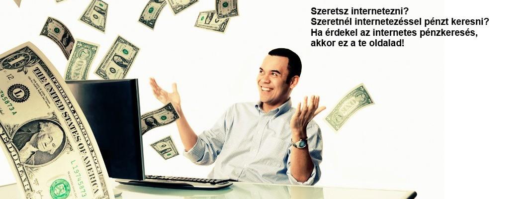 pénzt keresni az interneten videón
